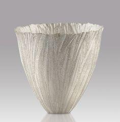 Julie Blyfield, Acacia vessel, 2007,  silver, Art Gallery of South Australia