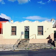 The Bo Kaap Museum and the oldest building in the Bo Kaap district