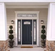 residential front doors gray half windows - Google Search & door closer menards | Door Designs Plans | door design plans ... pezcame.com