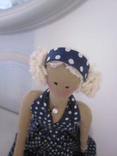 Tilda: les cheveux de la poupée Béatrix