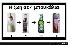 Funny Greek, Funny Cartoons, Sentences, Believe, Jokes, Frases, Husky Jokes, Memes, Cute Cartoon