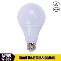 3pcs LED Lamp Bulb E27 DC 12V 24V 36V Bombillas Led light DC12-85V Energy Saving Lights Bulb Solar Motor Home Bulb Cold White. Yesterday's price: US $10.73 (9.27 EUR). Today's price: US $5.26 (4.56 EUR). Discount: 51%.