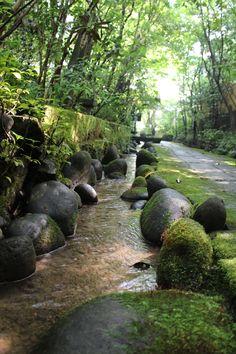 small river at Kayausagi