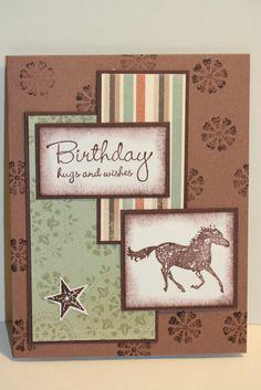 My Creative Corner: Masculine Birthday Card