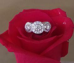 Tiffany & Co 0.55tcw Circlet Diamond Engagement Ring Platinum RRP $6400