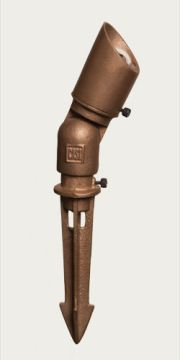 The Craftsman Bronze Spot Wash Light Pin This Outdoor Fixture