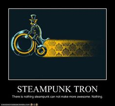 Steampunk makes everything more awesome