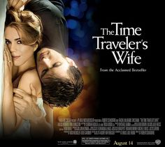 THE TIME TRAVELER'S WIFE MOVIE POSTER RE-IMAGINED WITH BILLIE PIPER AND DAVID TENNANT FROM DOCTOR WHO...