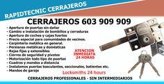 Cerrajeros de Sollana 603 909 909
