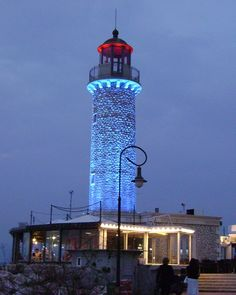 The old lighthouse of Patra harbour