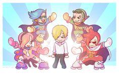 One Piece - Vinsmoke family