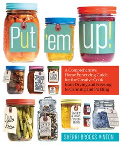 With simple step-by-step instructions and 175 delicious recipes, this book will have even the timidest beginners filling pantries and freezers in no time! Put 'em Up! includes complete how-to information for every kind of preserving: refrigerating, freezing, air- and oven-drying, cold- and hot-pack canning, and pickling. Sherri Brooks Vinton includes recipes that range from the contemporary and daring — Wasabi Beans and Salsa Verde — to the very best versions of tried-and-true favorites…