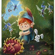 Finished!! #childrensillustration #sfr_art #sfrpin #sfrfb #womenartists #mangastudio #fantasy #fairy #fairies #fairytale #draw #dragon #bunny #children #childrenbooks #dwarf #loveanimals #cute #bestofillustration #illustration_best #illustrationartists