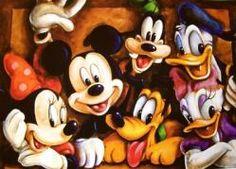 Imágenes en dibujos animados antiguos de actores - Buscar con Google