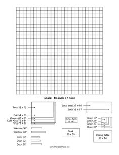 Decorology free printable room planner from the nest - Free online room planner ...
