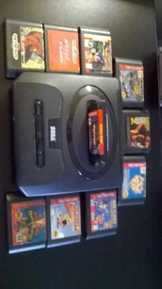 Accepting Best Offer!!!! Act Fast, Great deal! Sega Genesis Black Console bundle  GAMEs, and 2 controllers (NTSC) #Sega