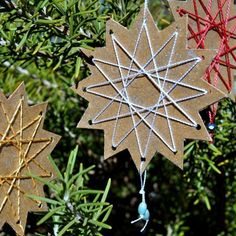 trim the tree – paper stars « home sweet homemade