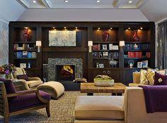 Art Deco Living Room Design