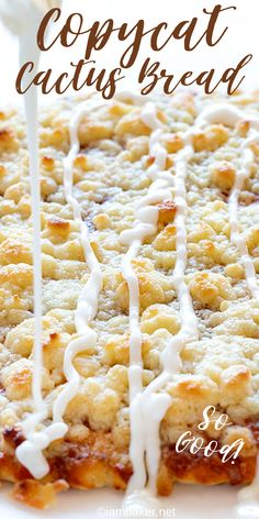 This recipe has been TESTED and PERFECTED! A glorious cinnamon-sugar dessert pizza covered in the best sweet glaze. A fan favorite! Informations About A Sweet Cinnamon Sugar Glazed Dessert Pizza! Cinnamon Desserts, Easy Desserts, Dessert Recipes, I Am Baker, Copycat Recipes, Naan, Deep Dish, Sweet Tooth, Easy Meals