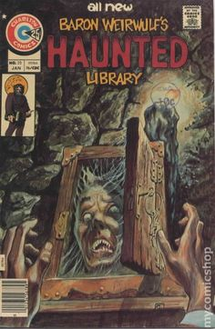 BARON WEIRWOLF'S HAUNTED LIBRARY 25, CHARLTON COMICS