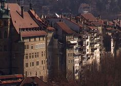 La vieille ville de Fribourg en Suisse. Source: http://www.coucoulasuisse.com