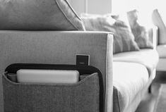 Never lose your devices again with our smart couch organizer. Forget about those ugly cables and charge 5 devices at a time. Smart Design, Heavenly, Kangaroo, Organize, Forget, Couch, Organization, Interior, Flower