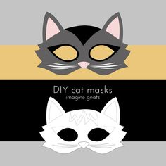 free cat masks - cute!