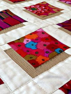 SHADOW QUILT.......................PC..........Studio Dragonfly: Shadow Blocks Mini - A Finished Quilt