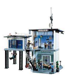 Love this Alarm System Police Station Play Set by PLAYMOBIL on #zulily! #zulilyfinds