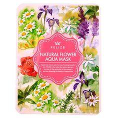 Feliz8 Nature Flower Aqua Mask