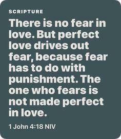 1 John 4:18 NIV
