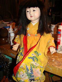 in her original kimono