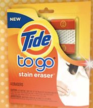 FREE Tide To Go Stain Eraser