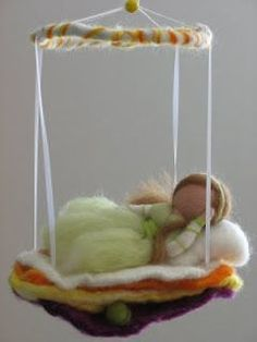 Wool Dolls, Felt Dolls, Fuzzy Felt, Wool Felt, Needle Felted Animals, Needle Felting, Diy Laine, Wet Felting Projects, Felt Angel