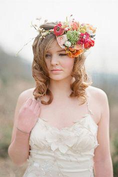 Peep This Beautiful, Rustic Wedding Shoot — Inspo, Much? #refinery29