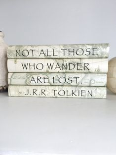 Not all those who wander are lost quote book set, JRR Tolkien quote book set, Decorative book set for adventurers, Vintage maps books, Gift Lost Quotes, New Quotes, Wisdom Quotes, Inspirational Quotes, Tolkien Quotes, Jrr Tolkien, Custom Book, Blank Book, Vintage Maps