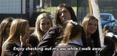 Luckily, private school girl Ja'mie King has it all sorted out for you. Summer Heights High, Chris Lilley, Private School Girl, Redneck Humor, Funny Phone Wallpaper, King Quotes, School Memes, Self Love Quotes, Story Of My Life