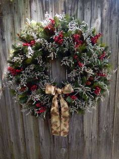 Christmas Wreath Winter Wreath X XL Christmas by forevermore1