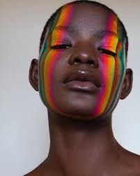 gay pride rainbow face - Google Search