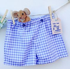 Boy Bathing suite/ Swimwear bottom/ Shorts for boy/ by Cecibirbona