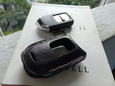 Leather Car Key Case Remote for Honda HRV
