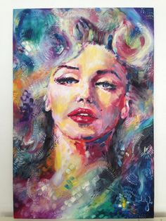 Marilyn by katyjadedobson    This image first pinned to Marilyn Monroe Art board, here: http://pinterest.com/fairbanksgrafix/marilyn-monroe-art/    #Art #MarilynMonroe