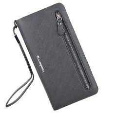 Sale 17% (14.99$) - Women Candy Color Zipper Long Wallet 13 Card Holder Girls Summer Purse Phone Bags
