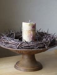 Image result for Crown of Thorns Lenten Candle Wreath