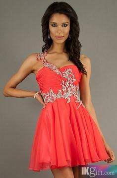Homecoming Dress Homecoming Dresses longer and in a different color, maybe a blue