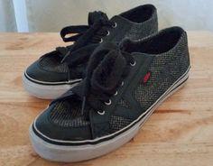 Vans Womens Tory Woolweed Lo-Skate Sneakers VN-0QHG6HO Size 7.5 US #VANS #VN0QHG6HO