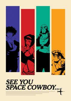 Cowboy Bebop Poster Print | Limited Edition — NFT
