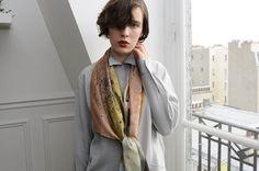 Hortus collection FW12   photo: Maxime Ballesteros   Model: Luna Maria Cedron