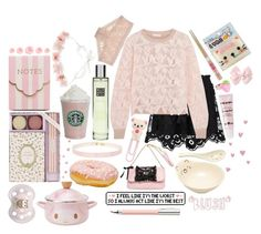 """""""Going Out To Dinner With Daddy"""" by xx-pretty-boy-xx ❤ liked on Polyvore featuring Chloé, See by Chloé, Rituals, Hanky Panky, Maison Michel, Ladurée, Meri Meri and Faber-Castell"""