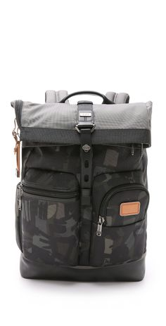 Tumi Alpha Bravo Luke Roll Top Backpack | EAST DANE